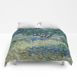"Vincent Van Gogh ""Olive Orchard"" Comforters"