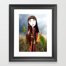 Our Lady of the Prairie Framed Art Print