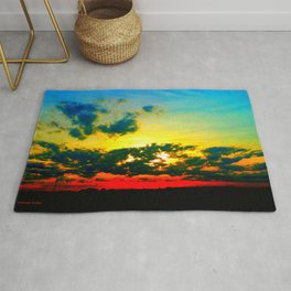 Curdled Clouds Rug