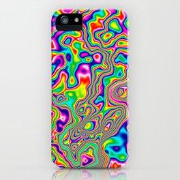 Warped Rainbow iPhone Case