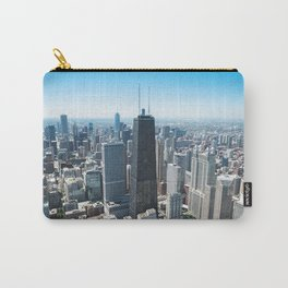 hancock tower in Chicago Carry-All Pouch
