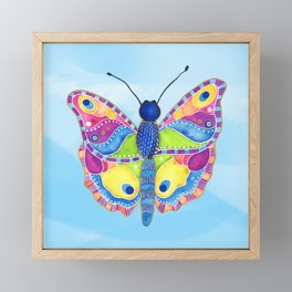 Butterfly II on a Summer Day Framed Mini Art Print