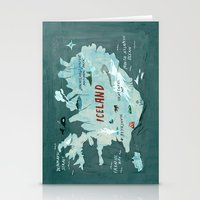 iceland Stationery Cards featuring Iceland by Christiane Engel