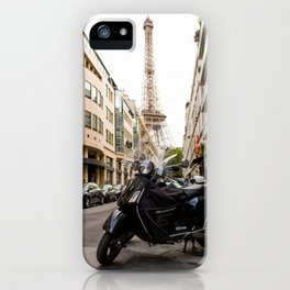 French Getaway iPhone Case
