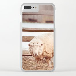 Barnyard Stance Clear iPhone Case