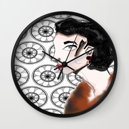 Ladies who Leisure  Wall Clock