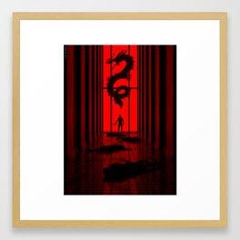 YAKUZA Framed Art Print