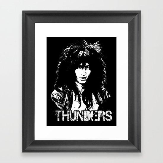 Johnny Thunders Framed Art Print