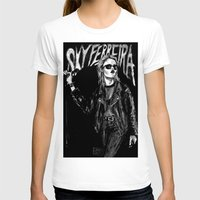sky ferreira T-shirts featuring Sky ferreira no,13 ''Night time is my time''' by Lucas David