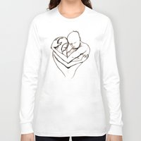 return Long Sleeve T-shirts featuring The Return by Kasey Randall