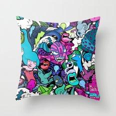 Flash! Throw Pillow