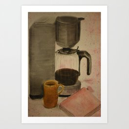 Dream Coffee Art Print