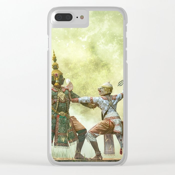 Actor Indian sport Theater Clear iPhone Case