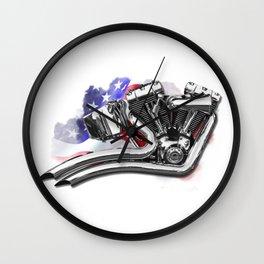 Harley engine Wall Clock