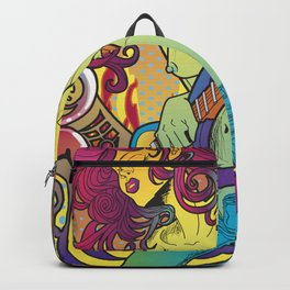 Psychedelic Music Backpack