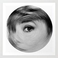 ArcFace - Audrey Hepburn  Art Print