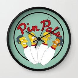 Pin pals Wall Clock