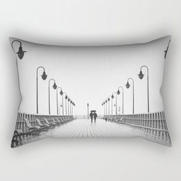 In Love On the Pier Rectangular Pillow