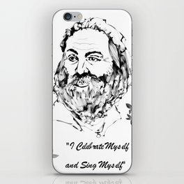I Celebrate Myself iPhone Skin