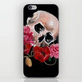 Cherished dead iPhone Skin