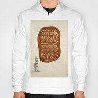 kendrick lamar Hoodies featuring Kendrick Lamar; What Rappers Say Series 7/8 by Jaron Lionel