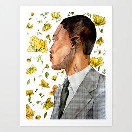floral no. 3 Art Print