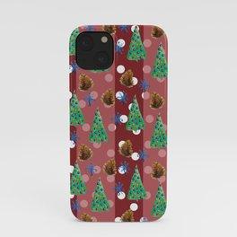 Winter festive feeling iPhone Case
