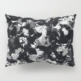 Shades of Gray and Black Oils #1979 Pillow Sham