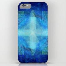 Blue Cross Slim Case iPhone 6 Plus