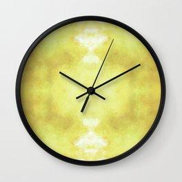 """Jasmine tea"" Wall Clock"