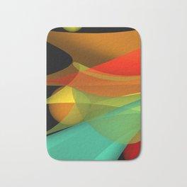 floating colors -a- Bath Mat