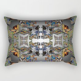 Framework: Fractal Journey Rectangular Pillow