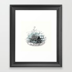 DEEP IN THE HEART OF THE FOREST Framed Art Print