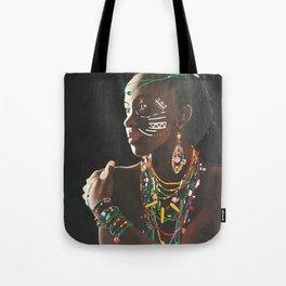 African Potrait II Tote Bag