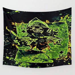 Reaper Of Aces Wall Tapestry