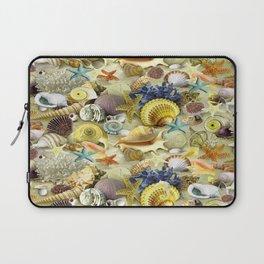 Seashells And Starfish Laptop Sleeve