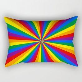 Eternal Rainbow Infinity Pride Rectangular Pillow