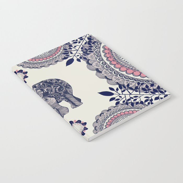 Elephant Pink Notebook