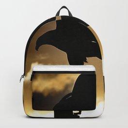 Golden Eagle Sunset Backpack
