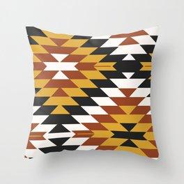 San Pedro in Sienna Throw Pillow