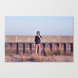 Muerto en Vacaciones Canvas Print