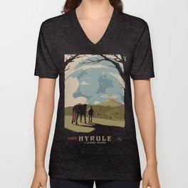 Visit Hyrule Unisex V-Neck