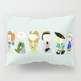 Mutant Superhero Friends Pillow Sham