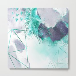 Azure mystique Metal Print