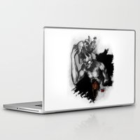 hats Laptop & iPad Skins featuring Hats Off by Ryan Eduad