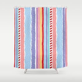 Candy madness Shower Curtain