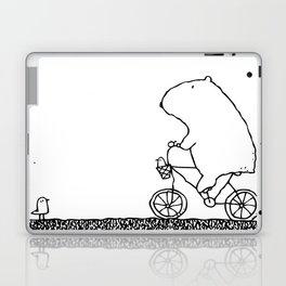 Morning Bike Ride Laptop & iPad Skin