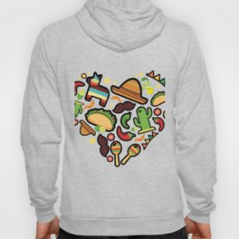 Love Cinco De Mayo Mexican Party Costume Hoody