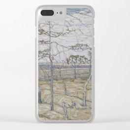 Abraham Manievich - Birch Trees (1911) Clear iPhone Case