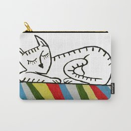 Graffiti. Sleeping Cat Carry-All Pouch